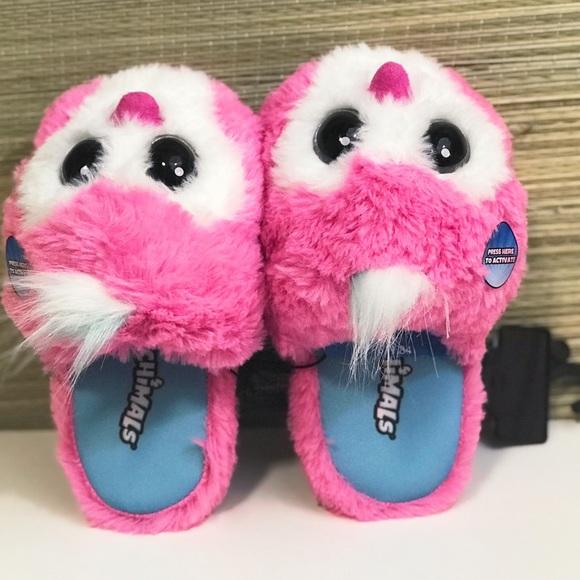 Hatchimals Girls Purple Slippers Size 11//12 13//1 2//3